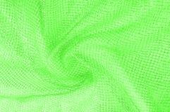 zielona srebna siatki tkanina z tkaną kruszcową nicią, enjoy zdjęcie stock