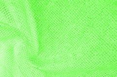 zielona srebna siatki tkanina z tkaną kruszcową nicią, enjoy obrazy stock