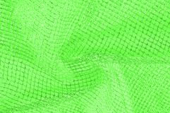 zielona srebna siatki tkanina z tkaną kruszcową nicią, enjoy zdjęcia stock