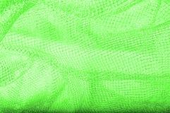 zielona srebna siatki tkanina z tkaną kruszcową nicią, enjoy fotografia royalty free