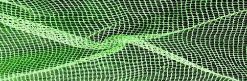 zielona srebna siatki tkanina z tkaną kruszcową nicią, enjoy fotografia stock