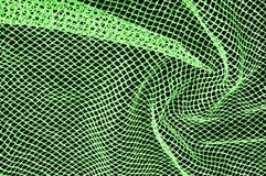 zielona srebna siatki tkanina z tkaną kruszcową nicią, enjoy obraz stock