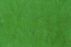 Zielona szorstka malująca ścienna bezszwowa tekstura Zdjęcia Stock