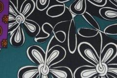 Zielona tło bawełnianej tkaniny tekstura Obraz Royalty Free