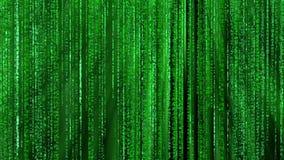 zielona tło matryca ilustracja wektor