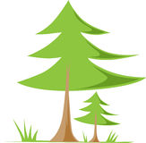 zielona tło natura reprezentuje sezonu wiosna drzewnego biel Zdjęcie Royalty Free