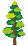 zielona tło natura reprezentuje sezonu wiosna drzewnego biel ilustracji