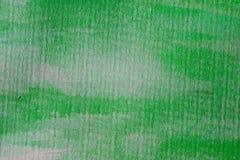 zielona tło akwarela Zielona abstrakcjonistyczna tekstura i tło dla projekta Obraz Royalty Free