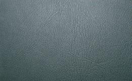 Zielona tekstura naturalna skóra z żyłami, Rzemienna tekstura Fotografia Royalty Free