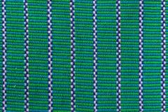 Zielona tekstylna tkanina Fotografia Royalty Free