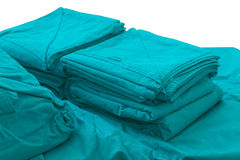 Zielona tkanina dla opration, operacja pokój Fotografia Royalty Free