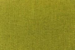 Zielona tkanina, materiał, płótno dla tekstury, tło, wzór, tapeta Obraz Stock