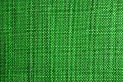 zielona tkaniny konsystencja Sukienny tło Zamyka w górę widoku zielona tkaniny tekstura, tło i Obraz Stock