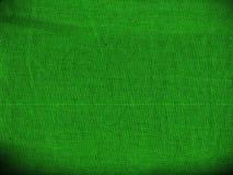 Zielona tkaniny tekstura dla tła zdjęcia stock