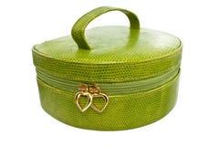 zielona torebka Zdjęcia Royalty Free