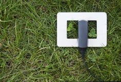 zielona władza Zdjęcie Stock