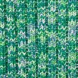 Zielona wełna Obraz Stock
