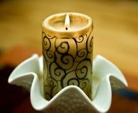 zielona świeczki mozaika Zdjęcie Royalty Free