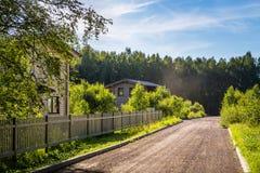 zielona wioski Zdjęcia Stock