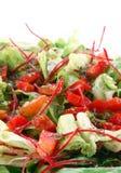 zielona zdrowa sałatka Obrazy Stock