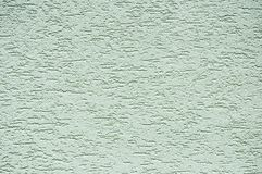 Zielonawa sztukateryjna tekstura Obraz Royalty Free