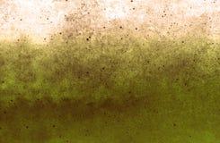 Zielonawy kamienny grunge będący ubranym tekstury stary papierowy tło zdjęcia stock