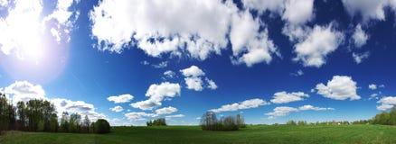 zielone łąki Zdjęcia Royalty Free