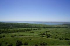 zielone łąki fotografia royalty free