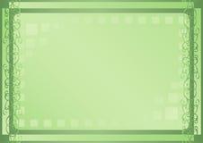 zielone światło kwadraty Obraz Stock