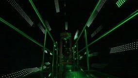 Zielone światło tunel royalty ilustracja