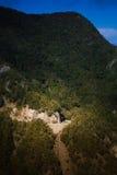 Zielone Anaga góry lekkie cień target4133_0_ Tenerife Obraz Royalty Free