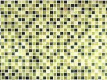 Zielone bezszwowe mozaik płytki Fotografia Royalty Free