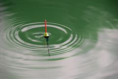 zielone bobber fale Fotografia Royalty Free