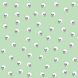 zielone czaszki Fotografia Stock