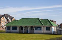 Zielone dachowe płytki Fotografia Royalty Free