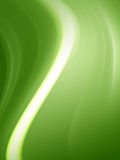 zielone fala Fotografia Stock