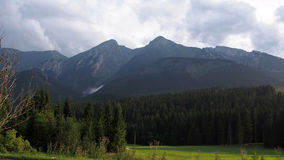 zielone góry obraz stock