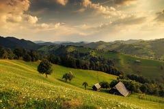 zielone góry Obraz Royalty Free