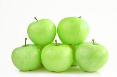 zielone jabłka zdjęcia stock