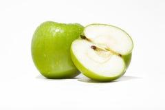 zielone jabłka Fotografia Royalty Free