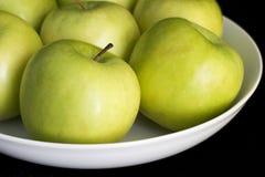 zielone jabłka Obraz Stock