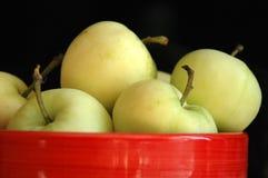 zielone jabłka Fotografia Stock