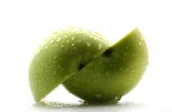 - zielone jabłka Fotografia Stock