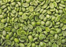 Zielone kawowe fasole Obraz Stock