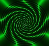 zielone koła energii royalty ilustracja