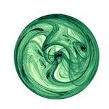 zielone liści bow royalty ilustracja