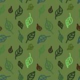zielone li?cie bezszwowy wzoru minimalista Tekstura dla projekta royalty ilustracja