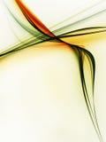 zielone liny Obraz Royalty Free