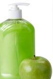 zielone mydło Obrazy Royalty Free