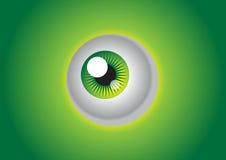 zielone oko Zdjęcie Royalty Free